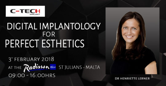 DIGITAL IMPLANTOLOGY FOR PERFECT ESTHETICS