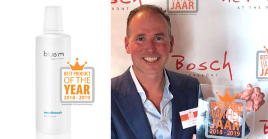 BLUE M MOUTHWASH CHOSEN AS BEST PRODUCT OF THE YEAR 2018/2019